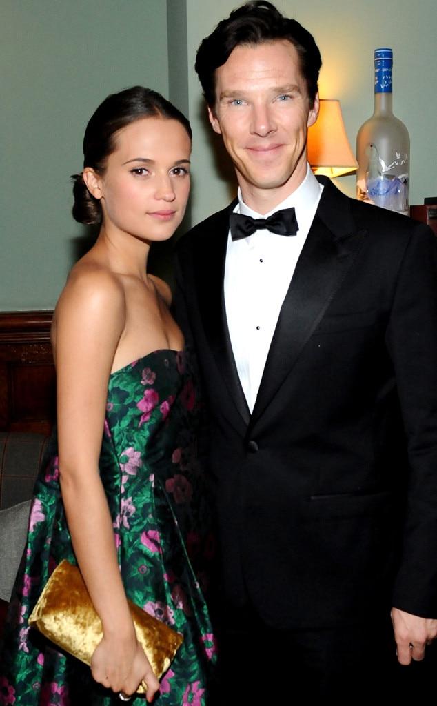 Alicia Vikander, Benedict Cumberbatch, TIFF