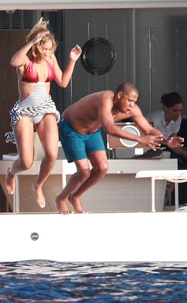 Beyonce Knowles, Jay-Z, Italy