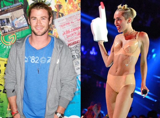 Chris Hemsworth, Miley Cyrus