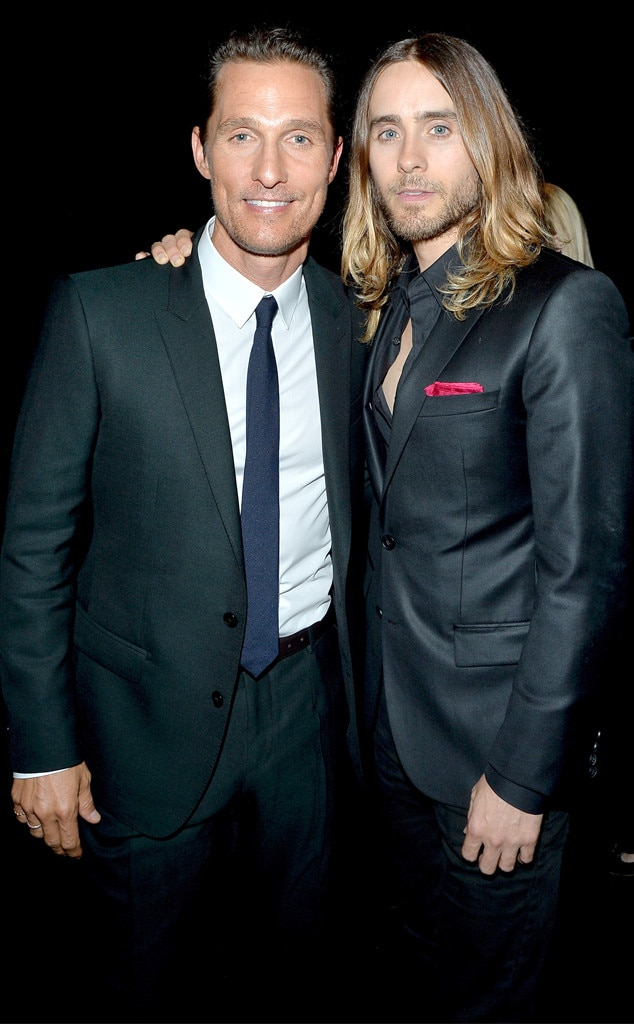Matthew McConaughey, Jared Leto
