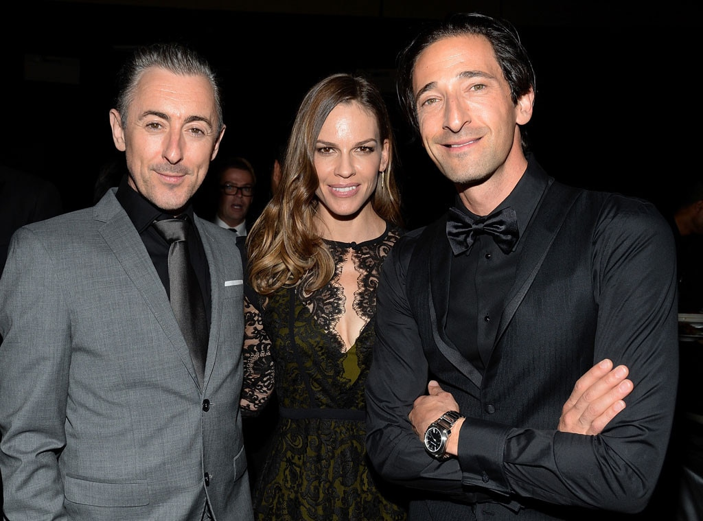 Alan Cumming, Hilary Swank, Adrien Brody