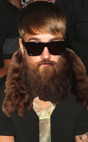 Justin Bieber Mustache