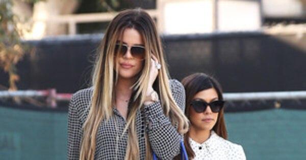 Khlo 233 Kardashian Odom Steps Out Wearing Her Wedding Ring