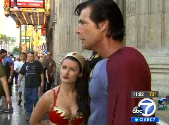 Wonder Woman, Superman