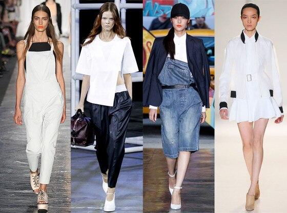 NYFW, Spring 2014 Trends, 90's Sportswear