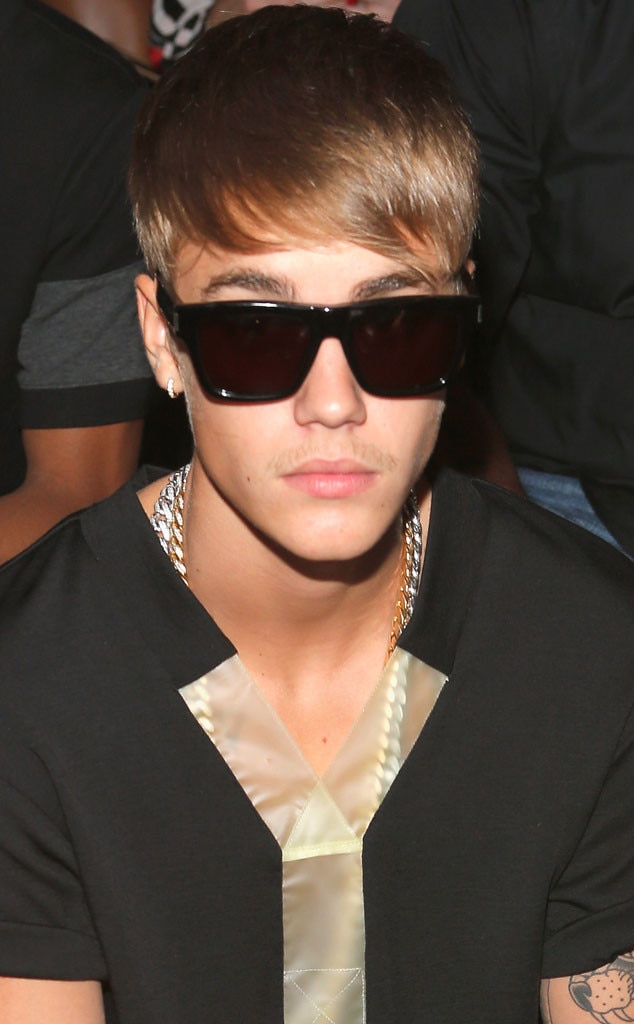 Justin Bieber, Fashion Week