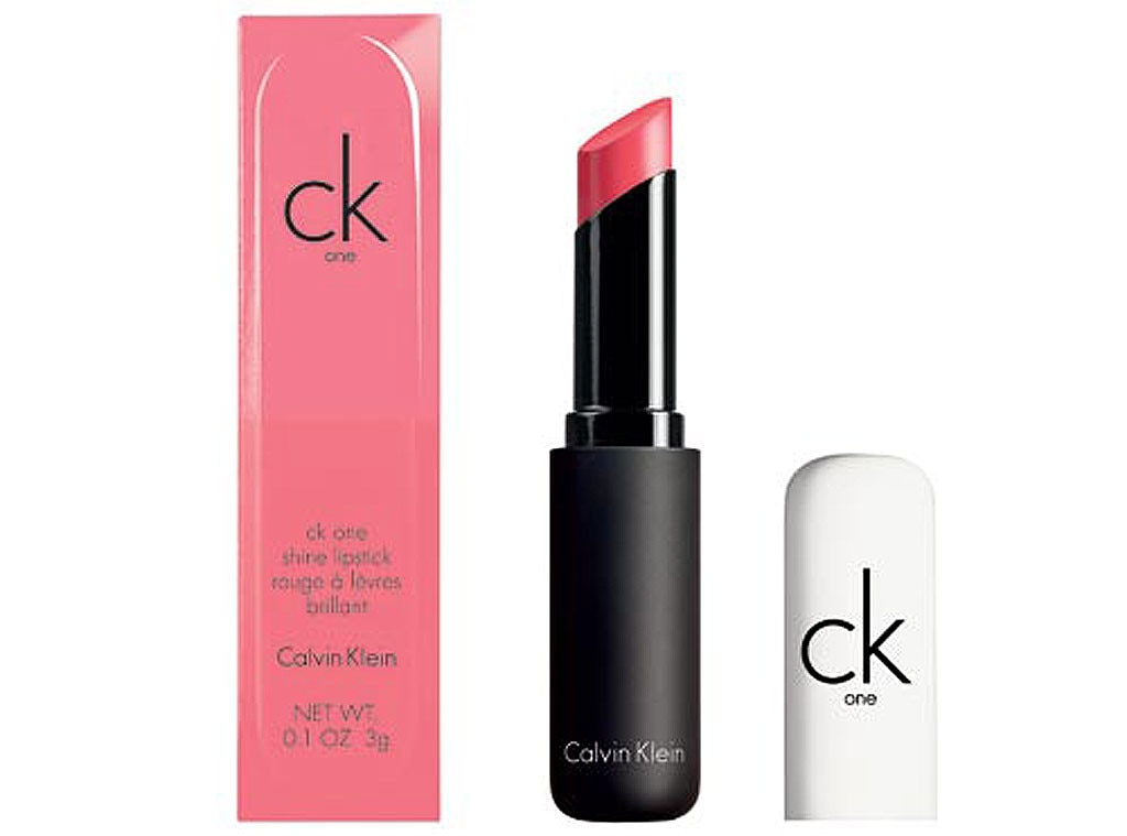 Editor Obsessions, ckONE Breast Cancer Awareness Shine Lipstick