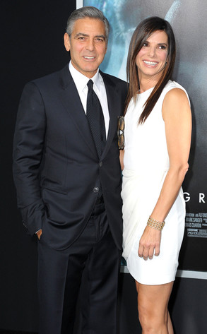 George Clooney, Sandra Bullock, Gravity