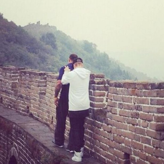 Justin Bieber, Great Wall of China