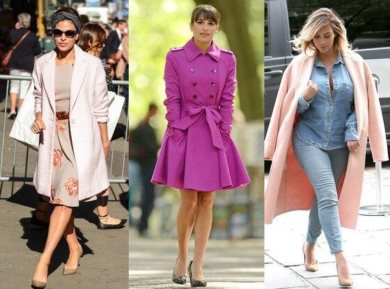 Eva Mendez, Kim Kardashian, Lea Michele