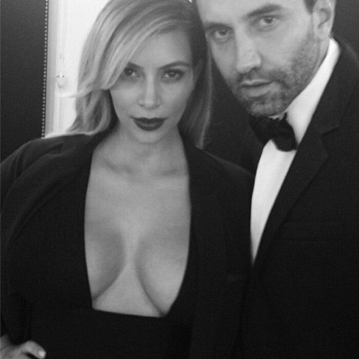 Kim Kardashian, Riccardo Tisci, Instagram