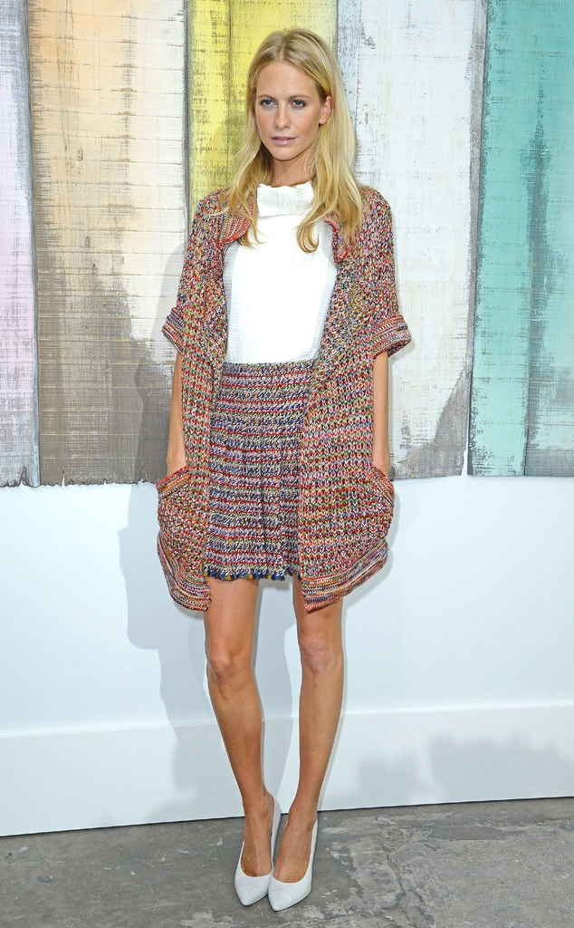 Poppy Delevingne From Celebrity Sightings At Paris Fashion