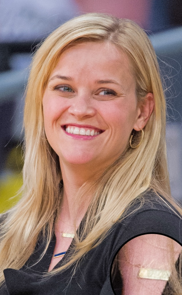 Nameplate Necklaces, Reese Witherspoon