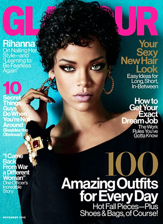 Rihanna Covers Glamour Magazine I Know I 39 M Misunderstood E News