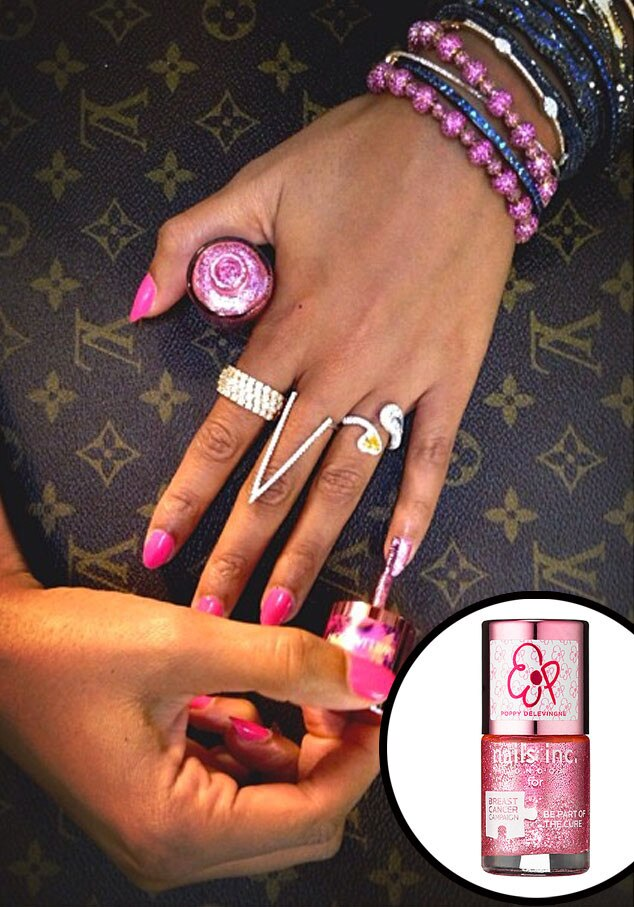 Beyonce Instagram, Nails Inc.