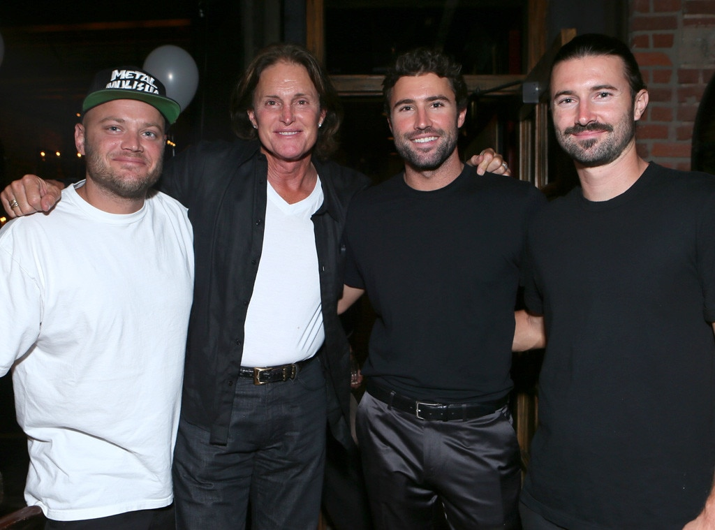 Burt Jenner, Bruce Jenner, Brody Jenner, Brandon Jenner