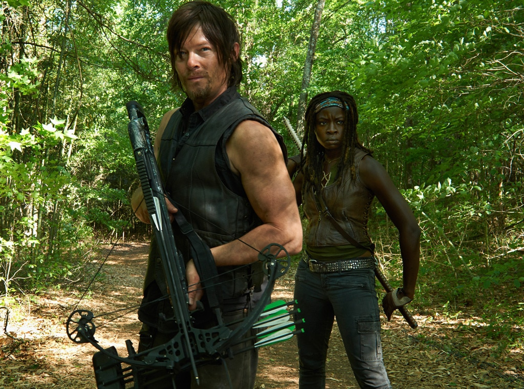 Norman Reedus, Danai Gurira, The Walking Dead