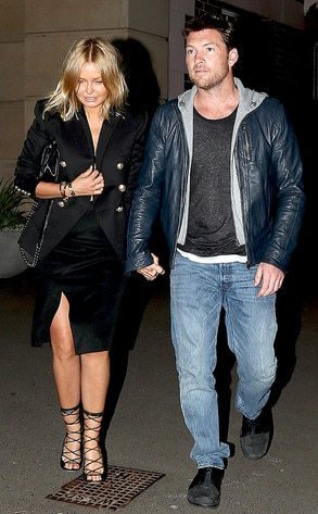 Sam Worthington, Lara Bingle