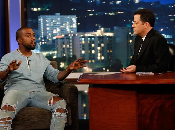 Kanye West, Jimmy Kimmel Live