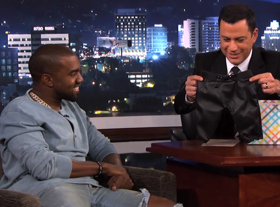 Kanye West, Jimmy Kimmel Live, Leather