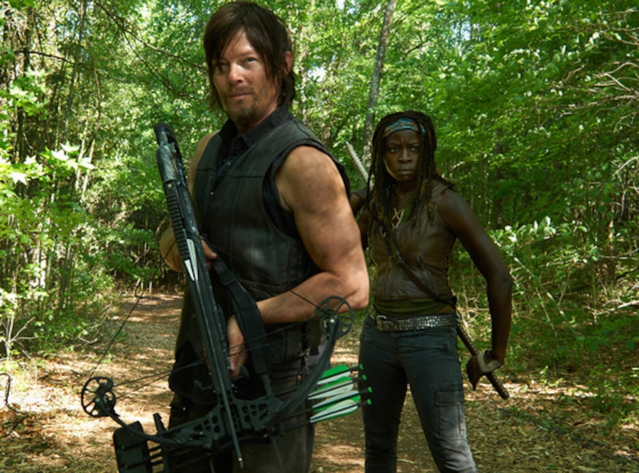 Norman Reedus, Danai Gurira, The Walking Dead