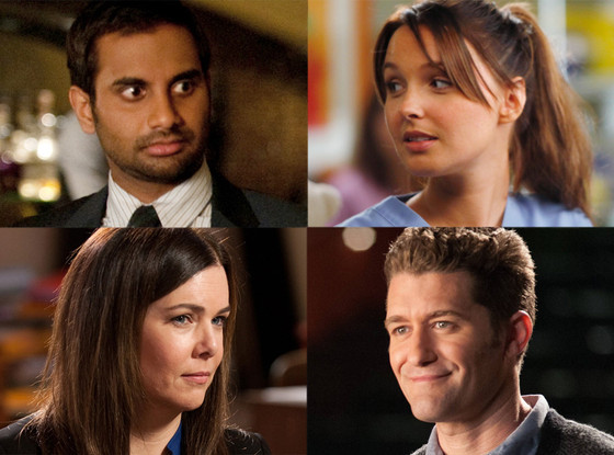 Spolier Chat, Matthew Morrison, Glee, Camilla Luddington, Grey's, Aziz Ansari, Parks and Rec, Lauren Graham, Parenthood