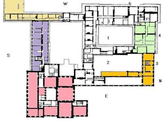 Image Gallery Kensington Palace 1a Layout