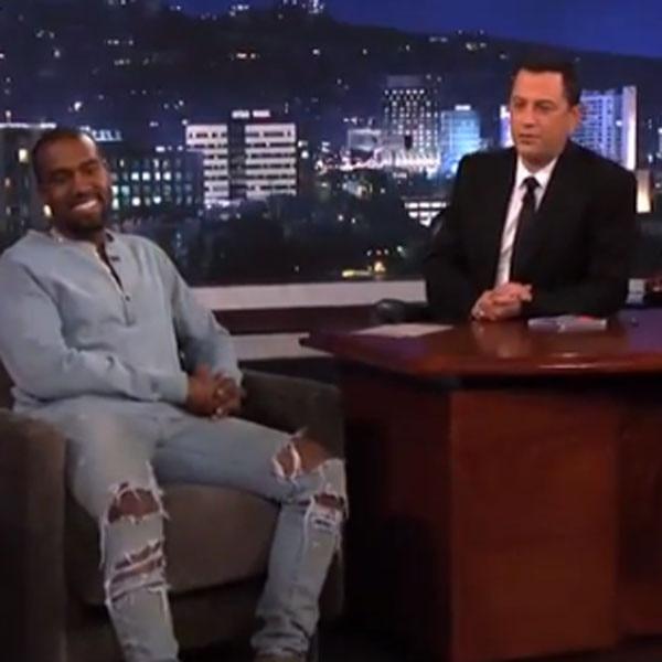 Kanye West, Jimmy Kimmel