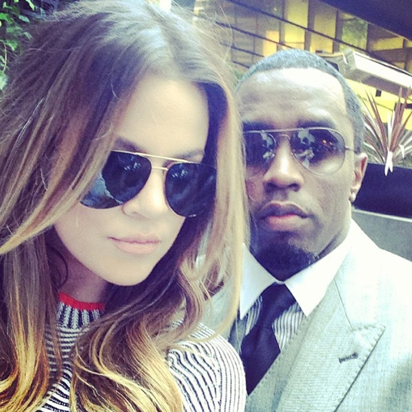 Khloe Kardashian, Sean Diddy Combs, Instagram