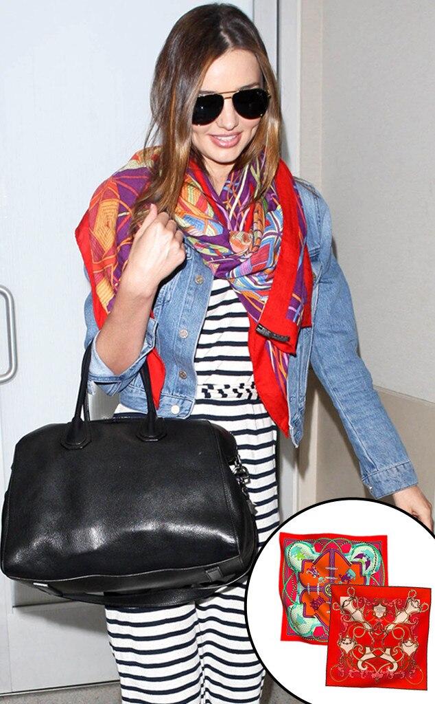 Miranda Kerr, Celeb Scarves