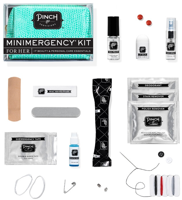 Pink Miniemergency Kit