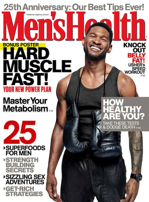 Usher, Men's Health