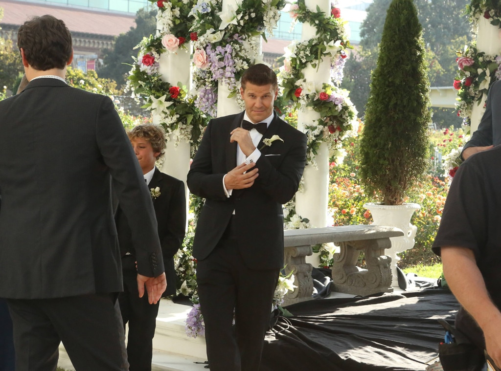 david boreanaz from bones wedding album e news