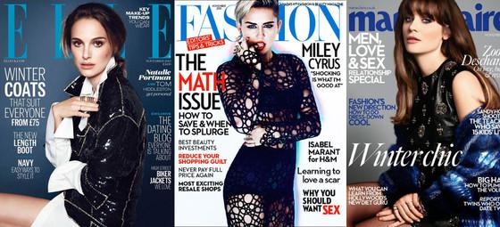November Magazine Covers