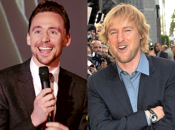 Tom Hiddleston, Owen Wilson