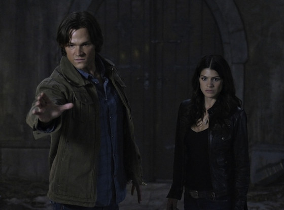 Supernatural, Jared Padalecki, Genevieve Cortese