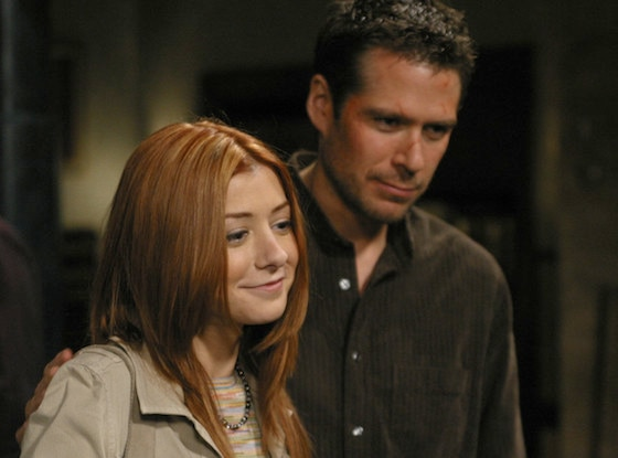 Alyson Hannigan, Alexis Denisof, Buffy The Vampire Slayer