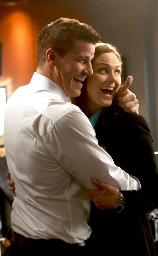 David Boreanaz & Emily Deschanel from Bones Wedding Album ...