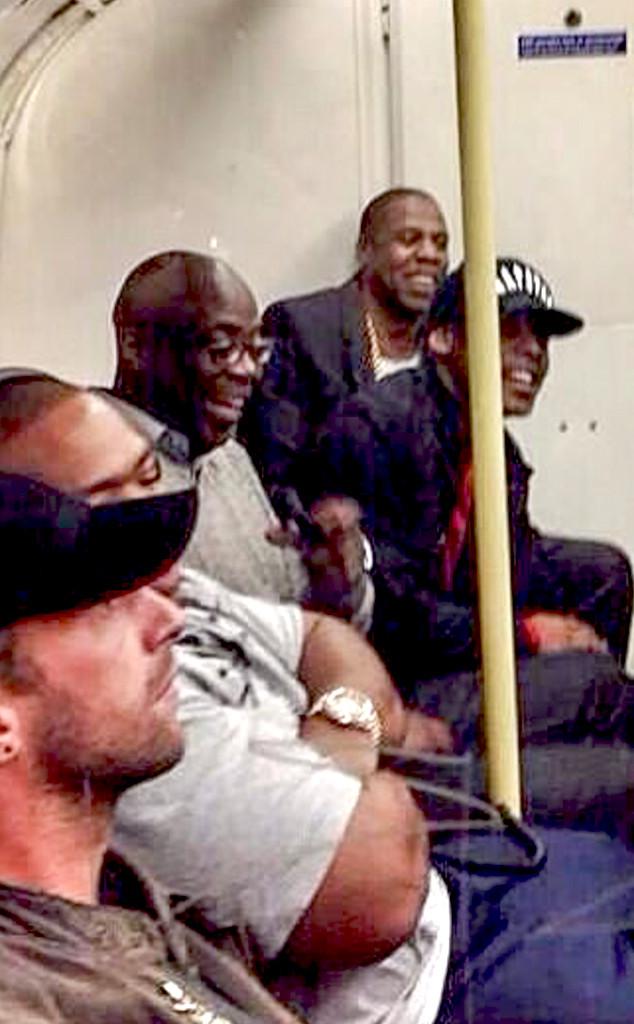 Jay-Z, Chris Martin, Timbaland
