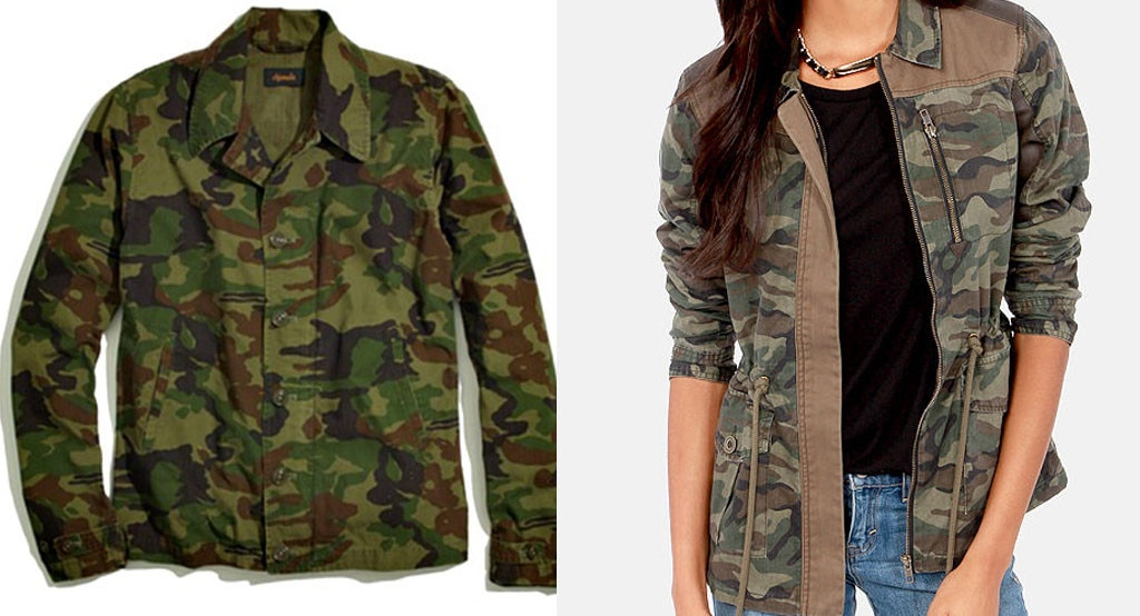 Splurge vs. Steal, Camo Guess