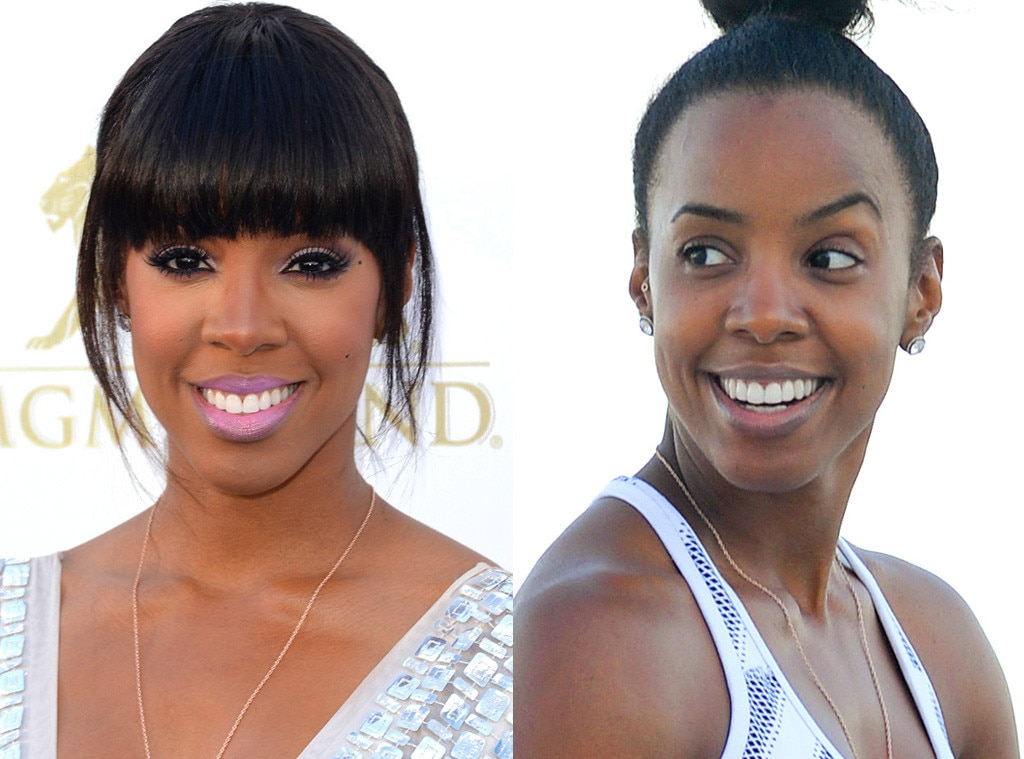 Kelly Rowland, No Makeup
