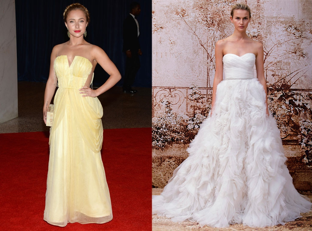 Hayden Panettiere, Monique Lhuillier, Bridal Prediction