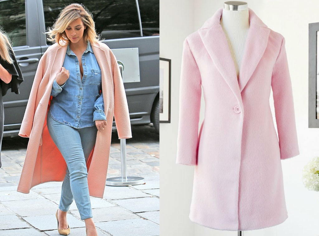 Pretty in Pink from Fall Fashion Essentials: Splurge vs. Steal