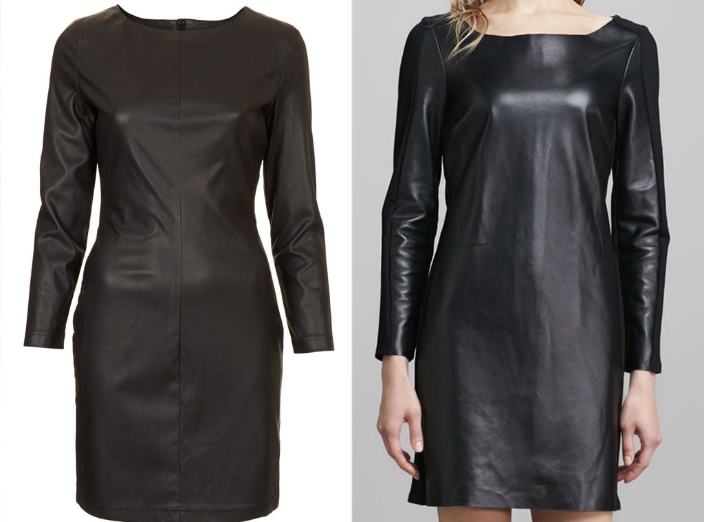 Splurge vs. Steal, Leather Dress Guess