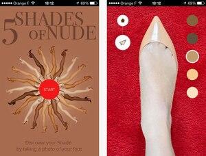 iTunes App, Louboutin Skin Match