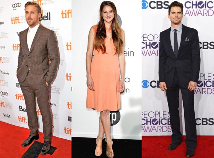 Shailene Woodley, Matt Bomer, Ryan Gosling