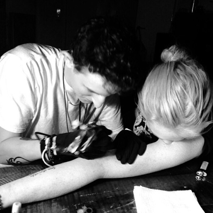Lindsay Lohan, Tattoo, Instagram