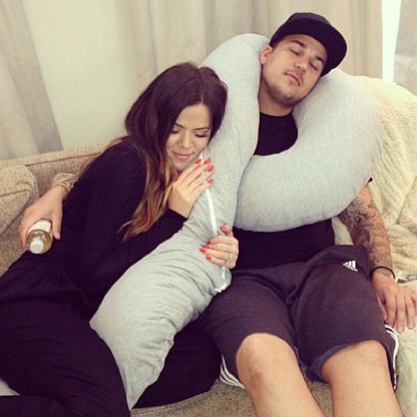 Khloe Kardashian Odom, Robert Kardashian, Instagram