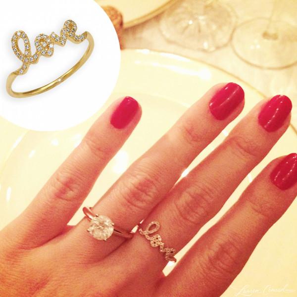 Lauren Conrad, Ring