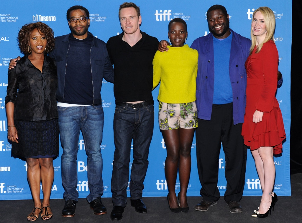 Alfre Woodard, Chiwetel Ejiofor, Michael Fassbender, Lupita Nyong'o, Steve McQueen, Sarah Paulson